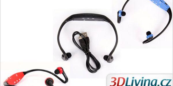 MP3 přehrávač určený na sport. Poslouchejte hudbu i při cvičení!