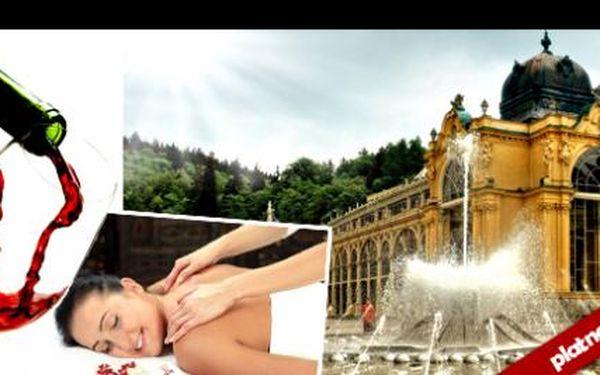 Oblíbený hotel je zpět! Navíc s platností až do 31.5. 3 dny pro 2 v rozkvetlých Mariánských Lázních za 2 299 Kc! Snídaně, pohoštění a masáž pro oba. Vyzkoušejte zákazníky oceňovaný hotel i Vy.