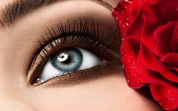 Trvalá na řasy ve studiu Lia - rozjasní pohled a opticky zvětší vaše oči.