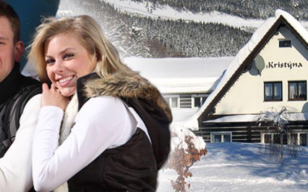 Týdenní pobyt pro 2 osoby ve Špindlerově Mlýně včetně polopenze a sauny