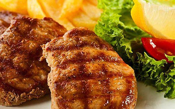 Steakové menu na grilu pro dva