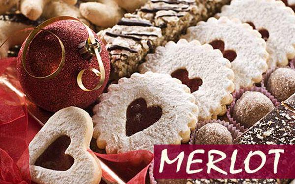 Vánoční cukroví přímo od cukrářů – 1 kg, 9 čerstvě napečených druhů