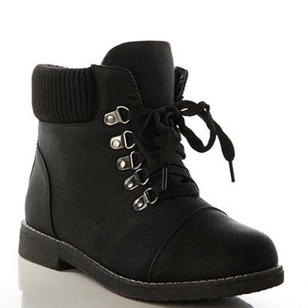 Dámské zimní boty černé, vel: 37,38,39,40,41