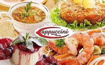 Vánoční menu PRO DVA! 4 chody: lososový tatarák, silný vývar, krevety a panacotta s horkými malinami!
