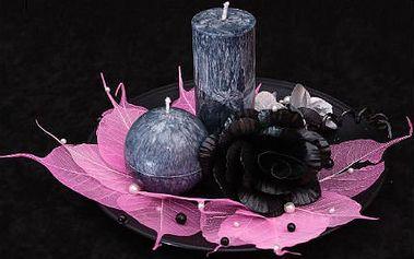 Dekorativní svíčky s masáží ZDARMA! Zbavte se celulitidy a ještě si udělejte radost vánočními svíčkami!
