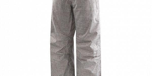 Dámské šedé kostkované lyžařské kalhoty Hannah