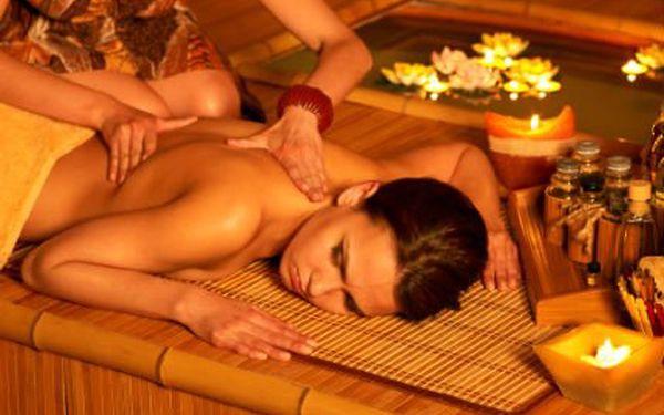 Thajská masáž v 55 minutách! Masírují rodilé Thajky s minimální praxí 2 let! Skvělý dárek!