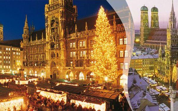 Předvánoční metropole Bavorska MNICHOV - klidný všední den ve středu 19. prosince 2012! Nadýchejte se jedinečné atmosféry v sídelním městě bavorských králů!