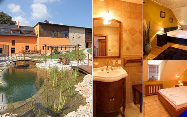 Vysočina - Relaxační pobyt pro jednoho v překrásném hotelu Horní Dvůr s bohatou polopenzí a volnými vstupy do solné jeskyně přímo v hotelu se slevou 42%!! Ochutnejte vynikající kuchyni. V okolí upravené běžecké trasy, sjezdovky v zimě, na jaře cykloturistika, výlety, pamětihodnosti a spousta zajímavostí v okolí!!