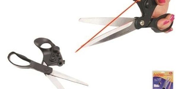 Nůžky s laserem, Laser Scissors za skvělých 139kč,...