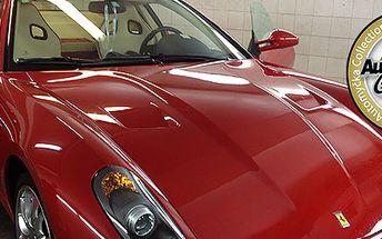 Ruční mytí auta ve značkové automyčce