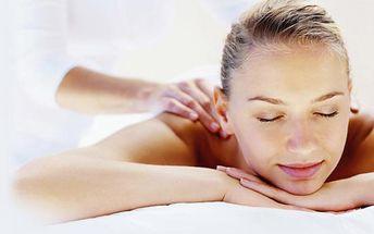 Rekondiční masáž 40 min - záda a šíje