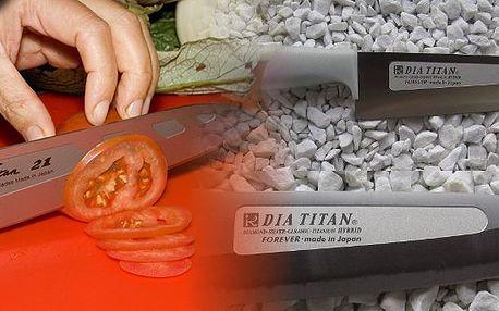 Absolutní NOVINKA na Českém trhu! Slevový za 49 Kč na sleveu 20% na nákup diamantových a titanových nožů FOREVER! Opravdu DOKONALE OSTRÝ NŮŽ! Revoluční kuchyňské nože 21. století!