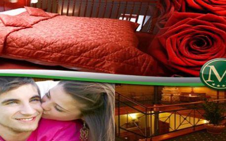 3 denní zimní ROMANTICKÝ pobyt pro dvě osoby v hotelu Morris Česká Lípa