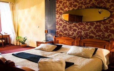 3 denní ZIMNÍ WELLNESS/RELAX BALÍČEK NABITÝ SLUŽBAMI pro 2 osoby ve Wellness hotelu Morris