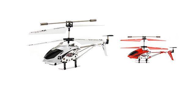 SIMMY 3.5 - kanálový RC vrtulník na dálkové ovládání říditelný do všech směrů, gyroskop a v exkluzivním balení pro snadný transport!