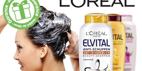 Tři oživující šampóny L'Oréal