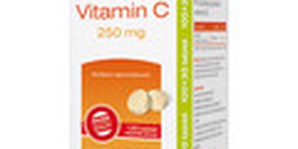 Daruj zdraví. CEMIO Vitamin C 250mg. Vhodný při zvýšené potřebě vitamínu C.100+30tbl. ZDARMA