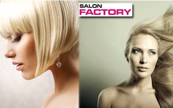 Prvotřídní kompletní vlasový styling pro dámy nebo pány již od krásných 75 Kč v luxusním salonu Factory!