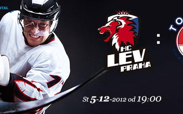 Vstupenky na KHL: LEV Praha-Nižnij Novgorod