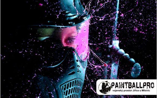 Celodenní paintballová zábava na vojenské základně! Super zábava s přáteli.