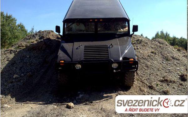 Dárek pro pořádné chlapy? Adrenalinová off-road jízda v Hummeru H1!