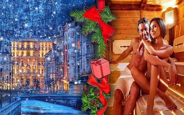3 dny pro 2 osoby s 10ti wellness procedurami v Karlových Varech s polopenzí v hotelu Marttel.