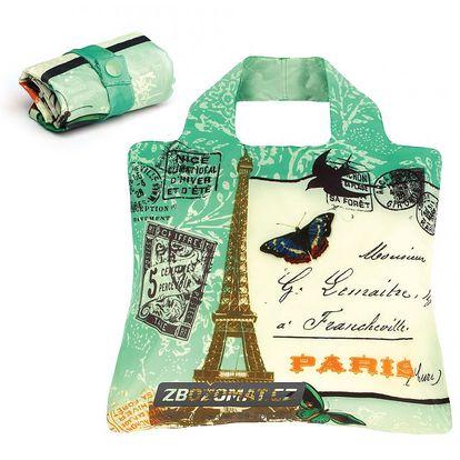 Ekologická skládací taška Envirosax Paris - ekologie a styl francouzské Paříže!
