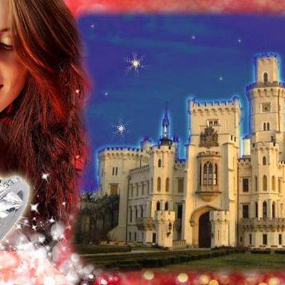 Hluboká a 2 dny v 4* hotelu Štekl pro 2 s luxusním wellness. Neomezený wellness a pobyt v královském pokoji. Snídaně do postele i čtyřchodová večeře. Navíc šperk a kytice růží pro dámu. Exkluzivní vánoční dárek!
