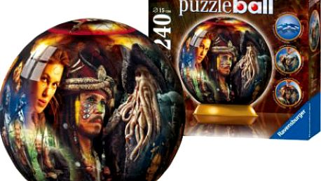 3D puzzle Ball od Ravensburger! Úžasná zábava pro celou rodinu!