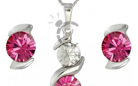 Luxusní souprava šperků Sisi Rose s kamínky Swarovski. Úžasný dárek!