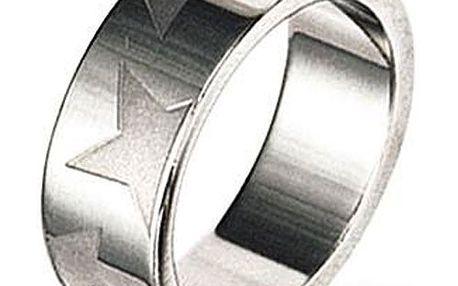 Prsten Tribal s rafinovaným motivem hvězd. Vyroben z chirurgické oceli.