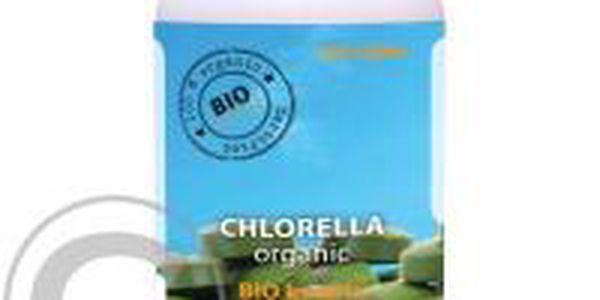 Blahodárné tablety ze sladkovodní řasy Bio Chlorella 750 tbl. Jedinečný přírodní zdroj důležitých vitamínů a minerálů.