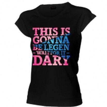 Tričko Legendary dark dámské