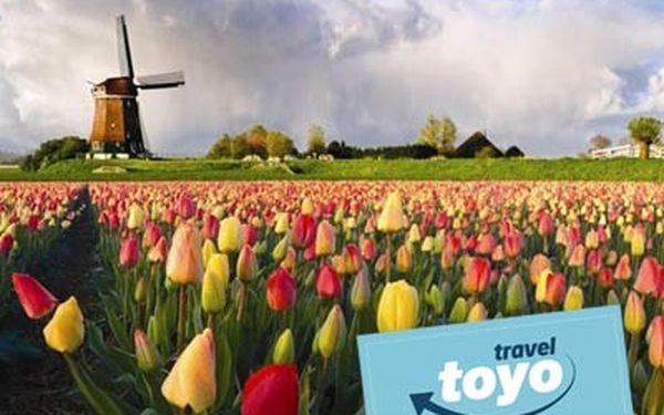 Skvělý 5 denní zájezd do Holandska s návštěvou květinové výstavy za 168 €