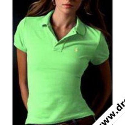 Elegantní dámské polo tričko věhlasné značky Ralph Lauren.