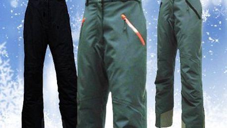 Pánské lyžařské kalhoty! Zimní kalhoty ze zatepleného softshellu. 2 různé barvy, odvětrávání a rozepínání nohavic!