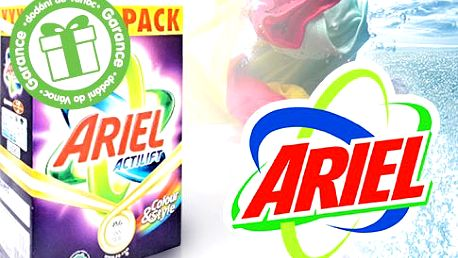 Prací prášek Ariel Actilift Color&Style – 8 kg