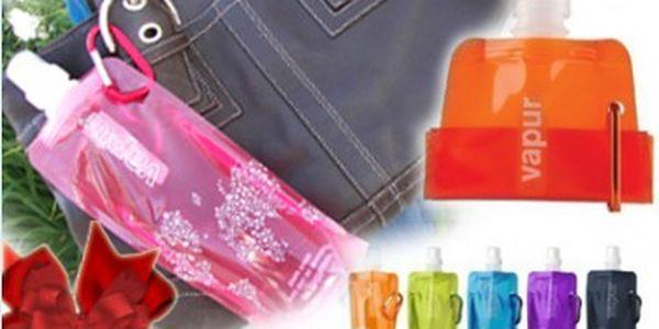 Originální skládací láhev Vapur za skvělých 29 Kč! Kupte tuto praktickou láhev svým blízkým k Vánocům.