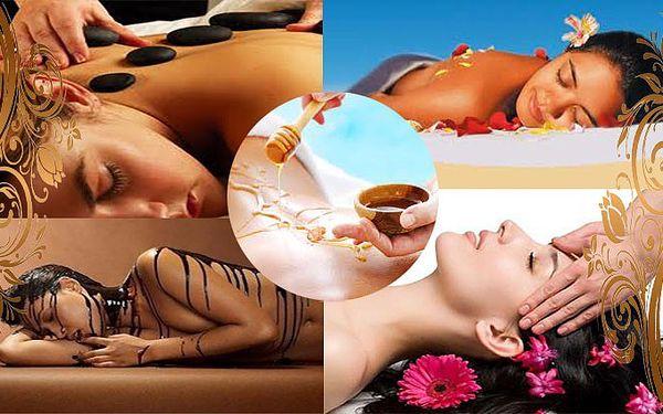 Balíček pěti masáží v celkové délce 3 hodiny 35 minut v salonu Bluebell.