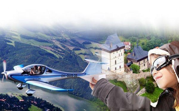 Zapůjčte si dvoumístný SPORTOVNÍ LETOUN a naplánujte svůj neobyčejný výLET dle vlastních představ! Jen 990 Kč za 30 minut letu VČETNĚ veškerých poplatků, paliva a vlastního pilota-instruktora. Létá se po celý rok! Sleva 47%!
