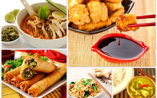Výběr thajských specialit pro DVĚ osoby v The Bangkok restaurant, jediné pražské restauraci s certifikátem Thai Select.