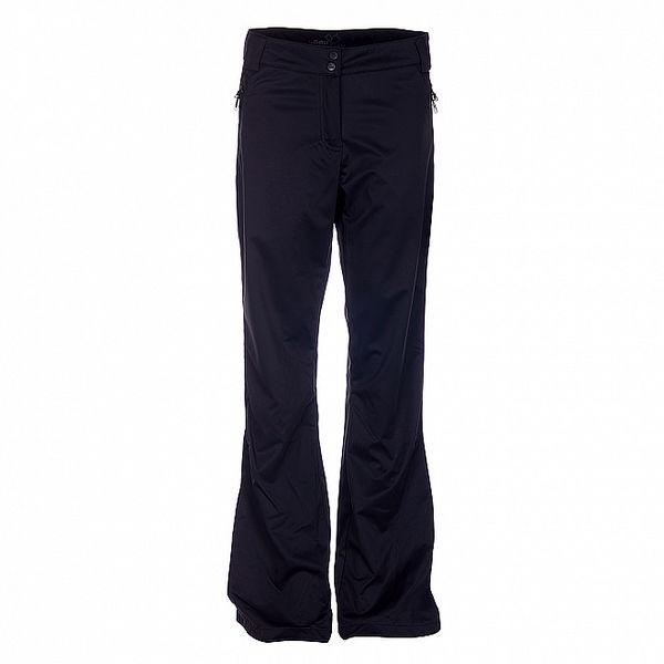 Dámské černé softshellové kalhoty Loap