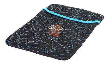 Pouzdro na notebook s motivem auta, modročerný a poštovné ZDARMA!