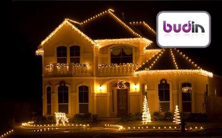 Vánoční LED solární pásy