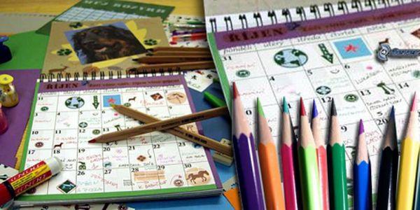 """""""Kreativní Deník"""", který lze doslova považovat za ojedinělý a převratný produkt na poli dětské tvořivosti! Pořiďte dětem deník, který pozitivně podporuje fantazii a vnímání času za cenu 175 Kč! Super sleva 50%!"""