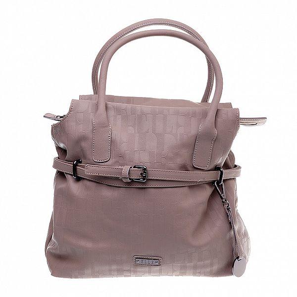 Dámská béžová kabelka Elle s úzkým páskem