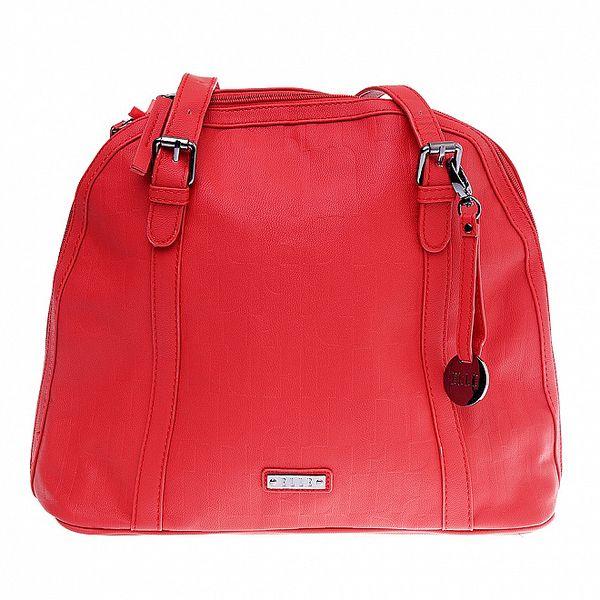 Dámská červená kabelka Elle
