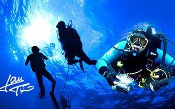 ÚDP - ÚVOD DO POTÁPĚNÍ! Ponor na zkoušku v bazénu jen za 490 Kč! V ceně je 20ti minutový ponor s přístrojem, 40 minut instruktáže a 2 hodiny vstup do wellness!