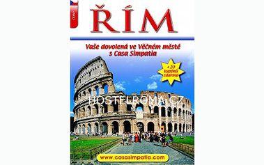 Chystáte se navštívit Řím nebo byste rádi ochutnali tradiční specialitu z Itálie? Za 99 Kč získáte knihu o tomto krásném městě obsahující další slevy na ubytování! Navíc Vánoční bonus!!